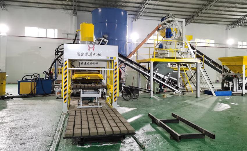 尾矿渣建筑垃圾制砖生产线设备